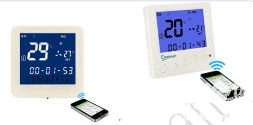 云温控器,春泉云温控器,互联网温控器,WiFi智能温控器,风机盘管温控器